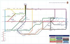 Putting Modern Art On The Map Will Gompertz's tube map-style guide to modern art…