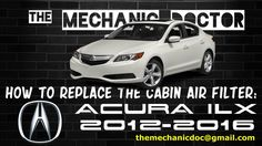This video will show you step by step instructions on how to replace the cabin air filter on a Acura ILX 2012-2016.