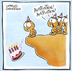 Lemming-Geburtstag