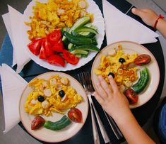 "3 aprecieri, 1 comentarii - Georgeana G. Aciobăniței (@aciobaniteigeorgeana) pe Instagram: ""children's breakfast. happy omelet."" Omelet, Tacos, Mexican, Instagram, Breakfast, Ethnic Recipes, Food, Omelette, Omelettes"