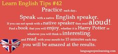 Learn English Tips #42 - Practice Each Day