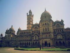 The extravagant the Lakshmi Vilas Palace, Vadodara