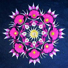 Flower Mandala, Flower Art, Acid Art, Mandala Artwork, Mandala Tattoo, Pretty Pictures, Beautiful Flowers, Eye Candy, Wallpaper