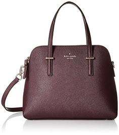 Shop for Kate Spade New York Cedar Street Maise Mahogany Leather Satchel Handbag. Get free delivery On EVERYTHING* Overstock - Your Online Handbags Shop! Cedar Street Maise, Kate Spade Cedar Street, Leather Satchel Handbags, Crossbody Bag, Satchel Bag, Thing 1, Kate Spade Handbags, New York, Fashion Bags