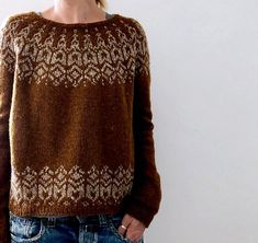 Ravelry: Manou pattern by Isabell Kraemer Rosa (rosapomar) has generously offered a discount for Brusca on her website here. Valid for 50 orders of a sweater quantity. Fair Isle Knitting Patterns, Fair Isle Pattern, Sweater Knitting Patterns, Knit Patterns, Ravelry, Work Tops, Pulls, Knitting Projects, Knitwear