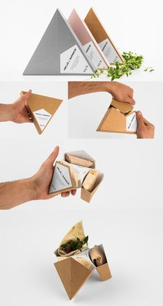 Packaging Inspiration I'm obsessed with this clever packaging. There's little I like more than efficient and pretty packaging. Moller/Barnekow by Rasmus Erixon & Tobias Möller Packaging Box, Organic Packaging, Clever Packaging, Food Packaging Design, Pretty Packaging, Packaging Design Inspiration, Brand Packaging, Innovative Packaging, Takeaway Packaging