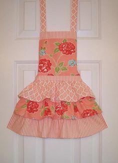 Apron Little Girl's apron funky
