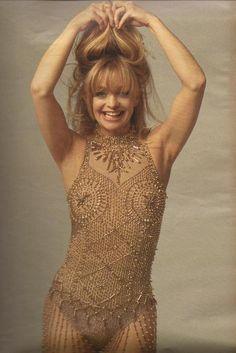 Goldie Hawn by Annie Leibovitz.