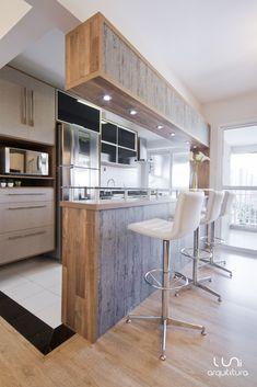 Cozinha projeto Luni Arquitetura Kitchen by Luni Arquitetura…