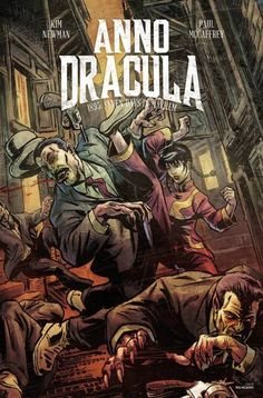The second issue of the Anno Dracula comic miniseries – written by Kim Newman, illustrated by Paul McCaffrey – is now out.