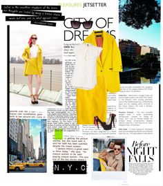"""""""N.Y.C"""" by dolliedoo1998 ❤ liked on Polyvore"""