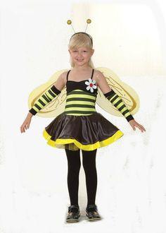 Déguisement Enfant Fille - Costume Abeille - 4/6 ans: Amazon.fr: Jeux et Jouets