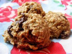 Chocolate Chip Banana Breakfast Cookies