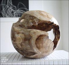プリミティブチークポットM1 鉢カバー 小物入れ 天然木 総無垢_画像4