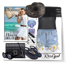 """""""Rosegal summer outfit"""" by newoutfit ❤ liked on Polyvore featuring Bobbi Brown Cosmetics, dress, women and rosegal"""
