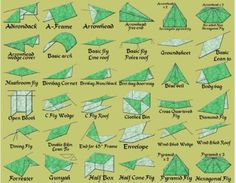 66 Shelters with a tarp