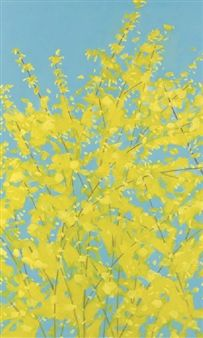 Forsythia By Alex Katz ,1997