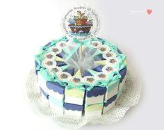 """Hermosa Torta de Papel - """" Arca de Noe """""""