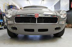 MGB RRC Grey - by RR Classic British Car, British Sports Cars, Classic Sports Cars, Classic Cars, Bmw Isetta, Mg Midget, Triumph Spitfire, Mg Cars, Sport Cars