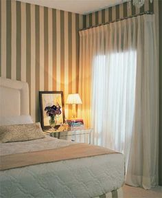 Cortinas Linen Bedding, Sweet Home, Curtains, Home Decor, Linens, Ideal House, Traditional Curtains, Curtain Ideas, Snuggles