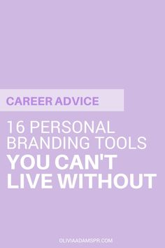 16 personal branding tools