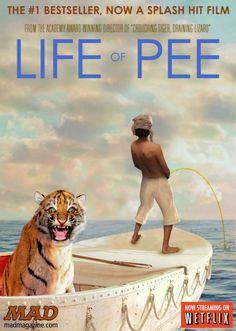 Life of Pee or #LIFEOFPI  #ROFLMAO