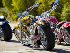 Big Dog continues to be 'The World's Largest Manufacturer of Custom Bikes' and celebrated by rolling its motorcycle off the production line. Custom Choppers, Custom Harleys, Custom Motorcycles, Custom Bikes, Custom Cars, Big Dog Motorcycle, Hot Bikes, Classic Bikes, Harley Davidson Motorcycles