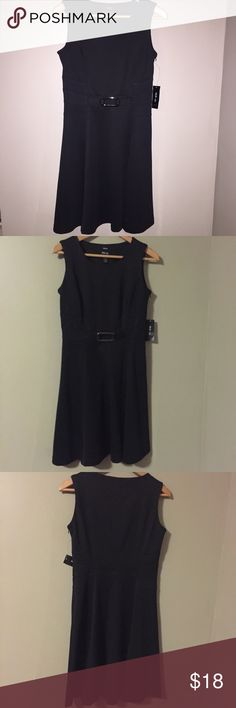 BRAND NEW W/ TAGS ATTACHED!😍Amazing Black Dress! Perfect black dress, for any occasion! Work appropriate but also perfect for a lunch or dinner! BRAND NEW WITH TAGS ATTACHED! Side zipper. Purchased at Macy's. SZ: 6P (Dress is completely black, flash may have lightened the color in pics) Dresses