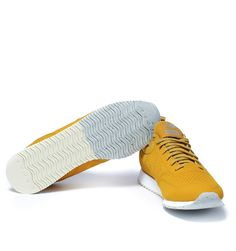 New Balance 600C Mustard Yellow Rubberised Trainers  #GavinRecommends