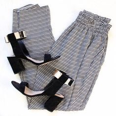 Zara • Checkered Harem Pants Barely worn! Lightweight and comfortable. Perfect for work! Zara Pants