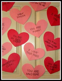 Valentine Pictures for Kids Awesome Valentine Heart Door Decorations A Simple Project that Your Birthday Gifts For Boyfriend Diy, Creative Gifts For Boyfriend, Cute Boyfriend Gifts, Diy Birthday Decorations For Boyfriend, Surprise Boyfriend, Valentines Day Hearts, Valentines For Kids, Valentine Day Crafts, Valentine Heart