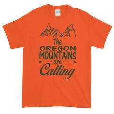 Oregon Mountains T-Shirt - New in at Getting Shirty!