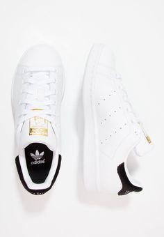 adidas Originals STAN SMITH - Baskets basses - footwear white/ core black - ZALANDO.FR