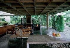 Residência Antonio Teófilo de Andrade Orth / Architect Decio Tozzi/ Brazil  via obsessivecollecors.com