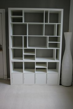2×2 + 2×4 + 4×4 = My re-structured Expedit - IKEA Hackers