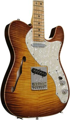 Fender Select Thinline Telecaster (Violin Burst) | Sweetwater.com