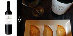 Moisés Gran Vino 2010 y empanadillas de buey con curry.
