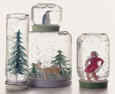 Idea fai da te: come costruire una palla di vetro con la neve   Fare casa