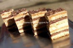 diana's cakes love: Prajitura Ramona- foi, nuca si crema de vanilie Tiramisu, Diana, Gem, Ethnic Recipes, Desserts, Food, Deserts, Tailgate Desserts, Eten