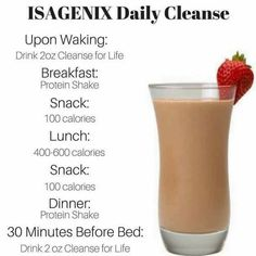 This is a sample schedule for weightloss with the Isagenix 30 day plan. Learn more at my website and get tips to help you get results with Isagenix. Detox Diet Drinks, Natural Detox Drinks, Detox Diet Plan, Fat Burning Detox Drinks, Detox Juices, Healthy Detox, Healthy Drinks, Healthy Nutrition, Healthy Eating
