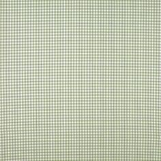 Gingham  Heath Green Check Cotton Fabric