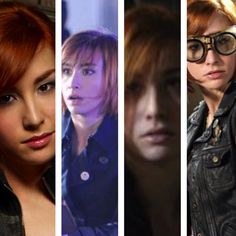 Claudia (Allison Scagliotti) from Warehouse 13- love, love, love the goggles.  would need them big enough to fit over my glasses though.