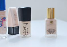 range of foundations for pale skin