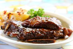 Coffee Syrup-rubbed Grilled Baby Back Ribs Marmite, Grilled Baby Back Ribs, Smokehouse Bbq, Salsa Barbacoa, Sauce Barbecue, Ribs On Grill, Specialty Foods, Carne, Steak