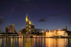Check out Frankfurt at night by dirkr on Creative Market
