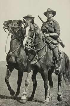Parramatta Heritage: World War One - New South Wales Lancers and the 1 Light Horse Regiment 1914 - 1915