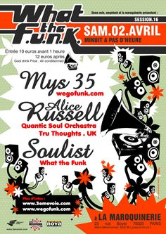 wtf#16 : première venue d'Alice Russell en France - 02/04/2005  (by Dré)