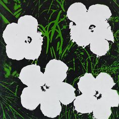 Flowers, 1964. Oil on canvas, 24 × 24 inches (61 × 61 cm). Solomon R. Guggenheim Foundation, Hannelore B. and Rudolph B. Schulhof Collection, bequest of Hannelore B. Schulhof 2012.100 © 2014 The Andy Warhol Foundation for the Visual Arts / Artists Rights Society (ARS), New York