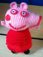 LE CREAZIONI DI MANOLA: Oggi ho provato a fare la Peppa Pig...Ora, a me pi...