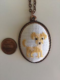 New Crochet Free Dog Cross Stitch 48 Ideas Tiny Cross Stitch, Cross Stitch Heart, Cross Stitch Designs, Cross Stitch Patterns, Sewing Patterns Free Dog, Free Pattern, Cross Stitching, Cross Stitch Embroidery, Puppy Crafts